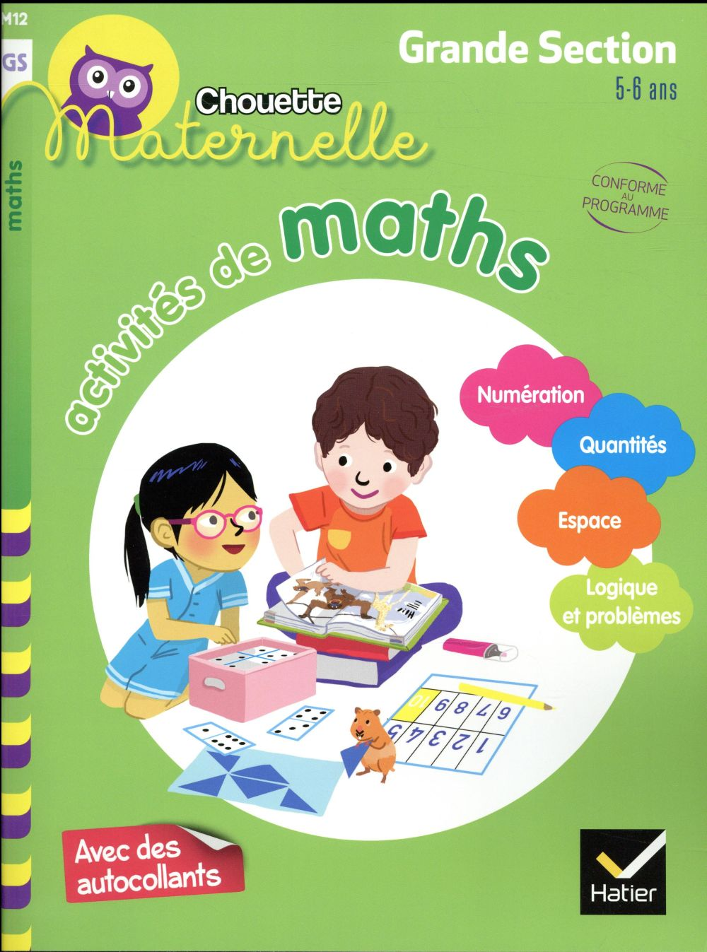 ACTIVITES DE MATHS GRANDE SECTION